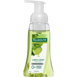 Photo of Palmolive Foaming Antibacterial Hand Wash Soap Lime & Mint Pump 0% Parabens Recyclable 250ml