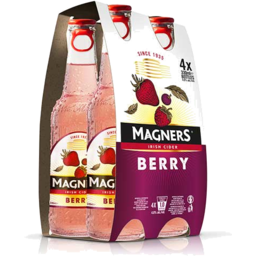 Photo of Magners Berry Cider 4% 4 Pack
