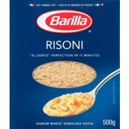 Photo of Barilla Pasta Risoni 500g