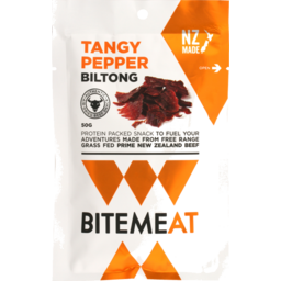 Photo of Canterbury Biltong Bitemeat Tangy Pepper 50g