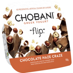 Photo of Chobani Greek Yogurt Flip Chocolate Haze Craze 140gm