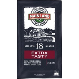 Photo of Mainland Cheese Extra Tasty 250g
