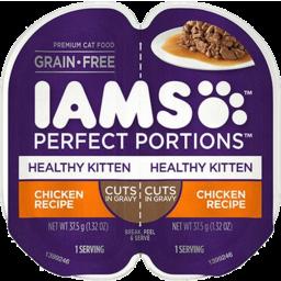 Photo of Iams Perfect Portion Healthy Kitten Chicken 75g Chicken