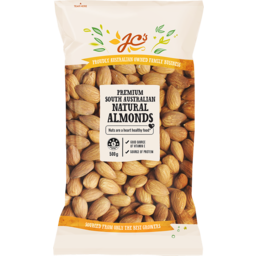 Photo of JC's Australian Almonds Natural 500g