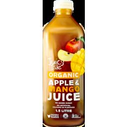 Photo of Juicy Isle Juice Organic Apple Mango 1.5L