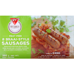 Photo of Fry's Braai Style Sausages 380g