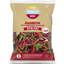 Photo of  Rainbow Noodle Stir Fry The Whole Mix 380g