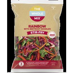 Photo of The Whole Mix Rainbow Coleslaw Noodle Stir Fry 380g