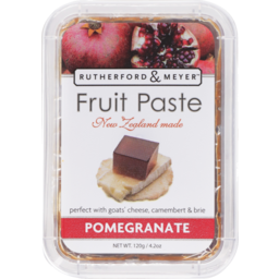 Photo of Rutherford & Meyer Fruit Paste Pomegranate 120g