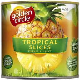 Photo of Golden Circle Tropical Slices Pineapple In Juice 425gm