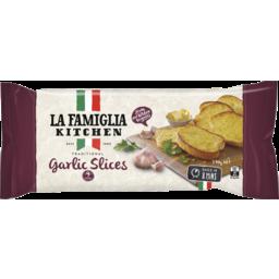 Photo of La Famiglia Traditional Garlic Slices 9 Serves 270g