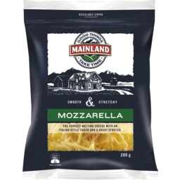Photo of Mainland Mozzarella Grated Cheese 200 G