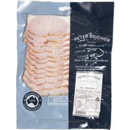 Photo of PETER BOUCHIER SLICED MIDDLE BACON - Pre Pack