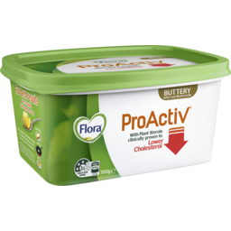 Photo of Flora Proactiv Cholesterol Lowering Spread Buttery 500g