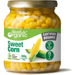 Photo of Absolute Organics Org Sweet Corn 350g
