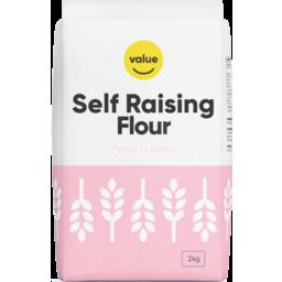 Photo of Value Self Raising Flour 2kg