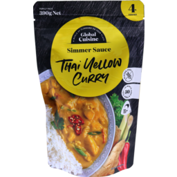 Photo of Diron Global Cuisine Sauce Thai Yellow Curry 390g