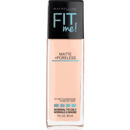 Photo of Maybelline Fit Me Matte & Poreless Mattifying Liquid Foundation - Ivory 115
