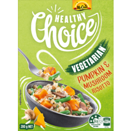 Photo of Mccain Healthy Choice Risotto Pumpkin And Mushroom 280g