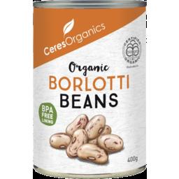 Photo of Ceres Organics Borlotti Beans