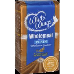 Photo of White Wings Wholemeal Flour Plain 1 Kg