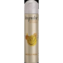 Photo of Impulse Women Body Spray Aerosol Deodorant Merely Musk 75ml