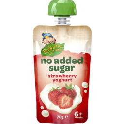 Photo of Rafferty's Garden No Added Sugar Strawberry Yoghurt 70g