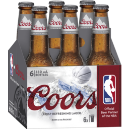 Photo of Coors 4.2% 330ml 6 Pack