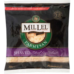 Photo of Millel Parmesan Shaved 250gm