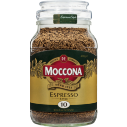 Photo of Moccona Espresso Style Bold & Intense Instant Coffee 400g