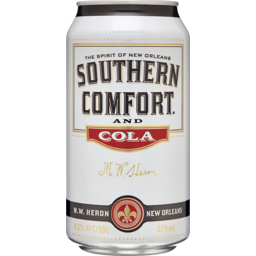 Photo of Southern Comfort & Cola Can