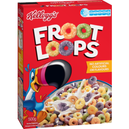 Photo of Kellogg's Froot Loops Cereal 500g