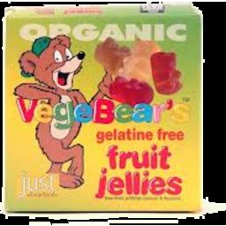Photo of Vegebears Fruit Jellies 100g