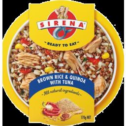 Photo of Sirena Brown Rice And Quinoa With Tuna 170g