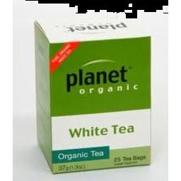 Photo of Planet Organic - White Tea - 25 Tea Bags