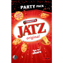 Photo of Arnotts Jatz Original Biscuits Party Pack 420g