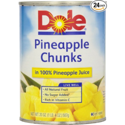 Photo of Dole Pine Chunk In Juice 432gm
