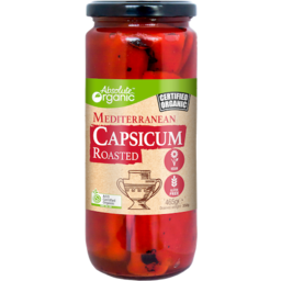 Photo of Absolute Organic - Mediterranean Roasted Capsicum - 460g
