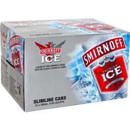 Photo of Smirnoff Red Ice 250ml Cans 12 Pack