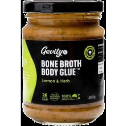 Photo of Gevity RX Bone Broth Concentrate - Lemon & Herb 260g