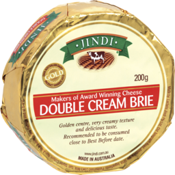 Photo of Jindi Brie Double Creme Cheese 200g