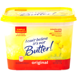 Photo of I Can't Believe It's Not Butter! Original 58% Vegetable Oil Spread
