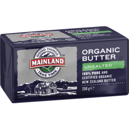 Photo of M/Land Organic Unsalted Butter 250gm