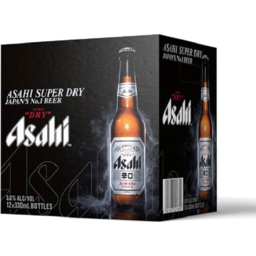 Photo of Asahi Beer Super Dry 330ml 12 Pack