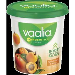 Photo of Vaalia Yoghurt Apricot, Peach & Mango 900g