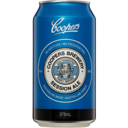 Photo of Coopers Brewery Session Ale 375ml Can