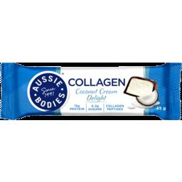 Photo of Aussie Bodies Coconut Cream Delight Collagen Bar 45g