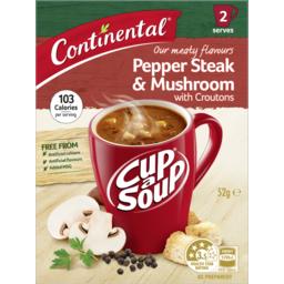 Photo of Cont Cup Soup Pepp Steak&Mush 52gm