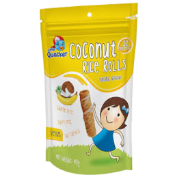 Photo of Little Quacker Banana Coconut Rice Roll 40gm