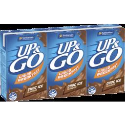 Photo of Sanitarium Up & Go Liquid Breakfast Choc Ice 3 Pack